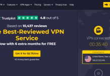 CyberGhost VPN Website